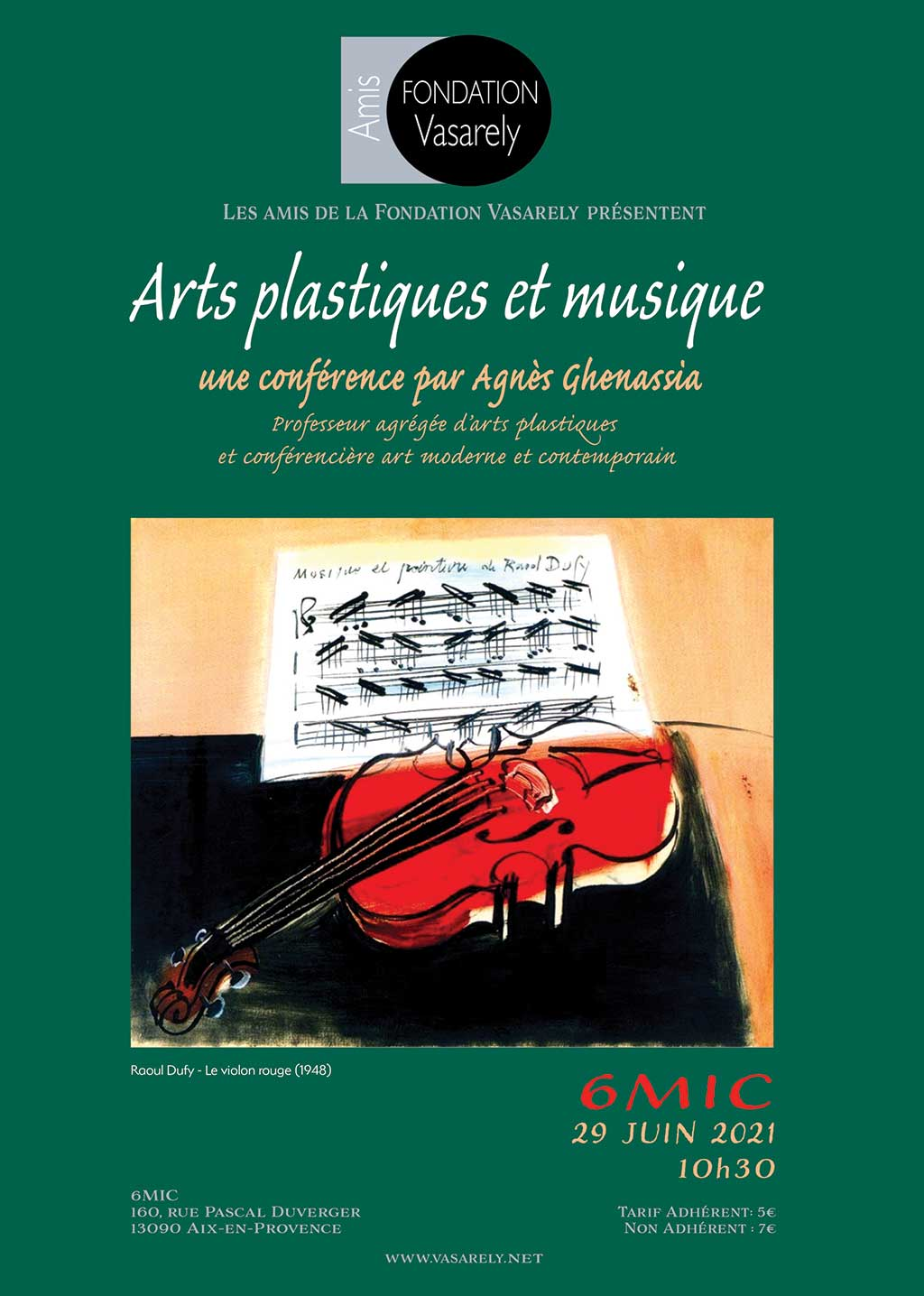 Plastic arts and music conference
