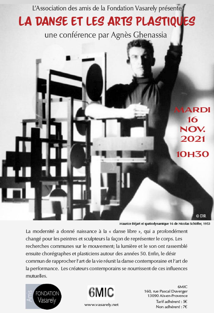 Conference: Dance and the plastic arts